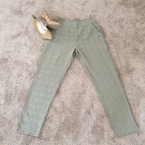 Nasty Gal Plaid Pants